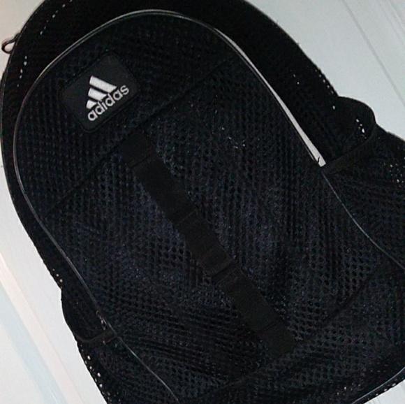 a4ca55dc35 adidas Handbags - Black mesh adidas backpack